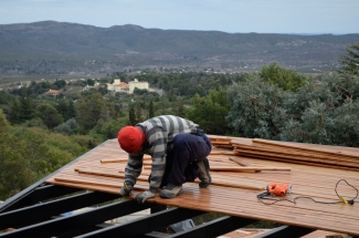 4 marcando maderas deck